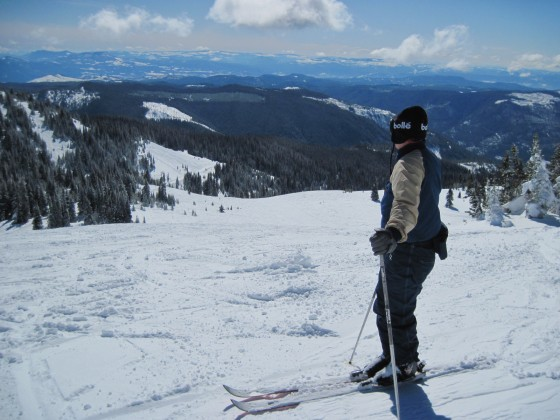 Skiing at Sun Peaks Resort Canada